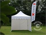 "Pop up gazebo FleXtents PRO ""Morocco"" 3x3 m White, incl. 4 sidewalls - 11"