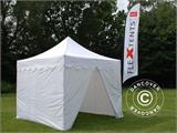 "Vouwtent/Easy up tent FleXtents PRO ""Morocco"" 3x3m Wit, inkl. 4 zijwanden - 12"