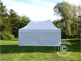 Carpa plegable FleXtents PRO Peak Pagoda 3x6m Blanco, incluye 6 muros laterales - 12