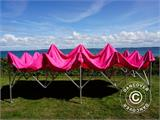 Vouwtent/Easy up tent FleXtents Xtreme 50 3x6m Roze - 5