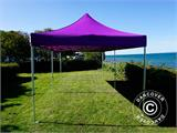 Vouwtent/Easy up tent FleXtents PRO 3x6m Paars - 7