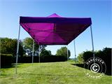 Vouwtent/Easy up tent FleXtents PRO 3x6m Paars - 8