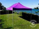 Vouwtent/Easy up tent FleXtents PRO 3x6m Paars - 10