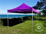 Vouwtent/Easy up tent FleXtents PRO 3x6m Paars - 13