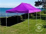 Vouwtent/Easy up tent FleXtents PRO 3x6m Paars - 14