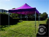Carpa plegable FleXtents Xtreme 50 3x6m Morado - 9
