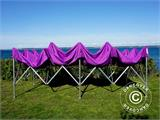 Carpa plegable FleXtents Xtreme 50 3x6m Morado - 15