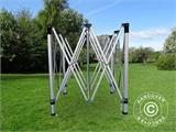 Pop up gazebo FleXtents Xtreme 60 3x3 m Black, incl. 4 sidewalls - 9