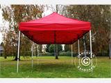 Pop up gazebo FleXtents PRO 3x6 m Red, incl. 6 sidewalls - 1
