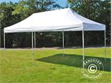 Vouwtent/Easy up tent FleXtents Basic 3x6m Wit, inkl. 6 Zijwanden - 2