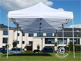 Vouwtent/Easy up tent FleXtents Basic 3x6m Wit, inkl. 6 Zijwanden - 4