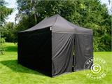 Vouwtent/Easy up tent FleXtents PRO 3x4,5m Zwart, inkl. 4 Zijwanden - 14