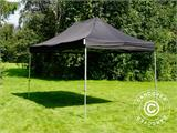 Vouwtent/Easy up tent FleXtents PRO 3x4,5m Zwart, inkl. 4 Zijwanden - 16
