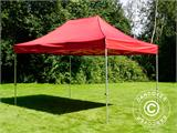 Vouwtent/Easy up tent FleXtents PRO 3x4,5m Rood - 1