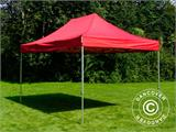 Vouwtent/Easy up tent FleXtents PRO 3x4,5m Rood - 3