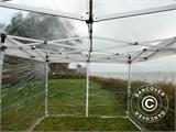 Pop up gazebo FleXtents PRO 3x6 m Clear, incl. 6 sidewalls - 6