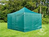 Pop up gazebo FleXtents PRO 4x4 m Green, incl. 4 sidewalls - 5