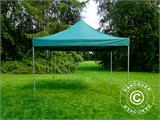Pop up gazebo FleXtents PRO 4x4 m Green, incl. 4 sidewalls - 9