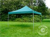Pop up gazebo FleXtents PRO 4x4 m Green, incl. 4 sidewalls - 10