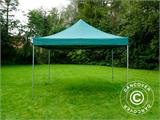 Pop up gazebo FleXtents PRO 4x4 m Green, incl. 4 sidewalls - 11