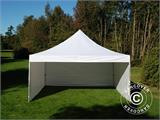Carpa plegable FleXtents PRO 5x5m Blanco, Incl. 4 lados - 7