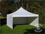 Carpa plegable FleXtents PRO 5x5m Blanco, Incl. 4 lados - 8