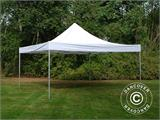 Carpa plegable FleXtents PRO 5x5m Blanco, Incl. 4 lados - 11
