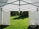 Carpa plegable FleXtents PRO 5x5m Blanco, Incl. 4 lados - 16