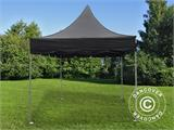 Quick-up telt FleXtents PRO Peak Pagoda 3x3m Svart - 1