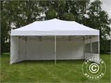 Pop up gazebo FleXtents PRO 6x6 m White, incl. 8 sidewalls - 1