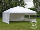 Pop up gazebo FleXtents PRO 6x6 m White, incl. 8 sidewalls - 3