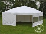 Pop up gazebo FleXtents PRO 6x6 m White, incl. 8 sidewalls - 7