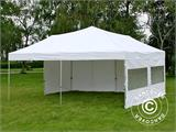 Pop up gazebo FleXtents PRO 6x6 m White, incl. 8 sidewalls - 11