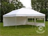 Pop up gazebo FleXtents PRO 6x6 m White, incl. 8 sidewalls - 12