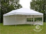 Pop up gazebo FleXtents PRO 6x6 m White, incl. 8 sidewalls - 13