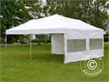 Pop up gazebo FleXtents PRO 6x6 m White, incl. 8 sidewalls - 14