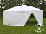 Pop up gazebo FleXtents PRO 6x6 m White, incl. 8 sidewalls - 15