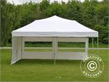 Pop up gazebo FleXtents PRO 6x6 m White, incl. 8 sidewalls - 16