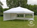 Pop up gazebo FleXtents PRO 6x6 m White, incl. 8 sidewalls - 17