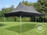 Foldetelt FleXtents PRO Top Pagoda 3x6m Sort, Inkl. 6 sider - 1