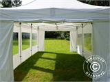 Pop up gazebo FleXtents PRO Peak Pagoda 4x6 m White, incl. 8 sidewalls - 14