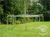 Pop up gazebo FleXtents PRO Peak Pagoda 4x6 m White, incl. 8 sidewalls - 24