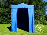 Pop up gazebo FleXtents Basic, 2x2 m Blue, incl. 4 sidewalls - 2
