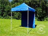 Pop up gazebo FleXtents Basic, 2x2 m Blue, incl. 4 sidewalls - 13
