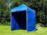 Pop up gazebo FleXtents Basic, 2x2 m Blue, incl. 4 sidewalls - 14