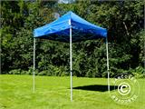 Pop up gazebo FleXtents Basic, 2x2 m Blue, incl. 4 sidewalls - 17