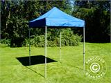 Pop up gazebo FleXtents Basic, 2x2 m Blue, incl. 4 sidewalls - 18