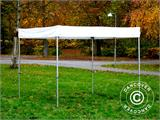 Pop up gazebo FleXtents® PRO Exhibition 3x3 m White, Flame Retardant - 3