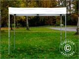 Gazebo rapido FleXtents® Xtreme 50 Exhibition 3x3m, Bianco, Ritardante di Fiamma - 1