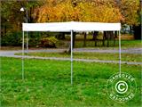 Gazebo rapido FleXtents® Xtreme 50 Exhibition 3x3m, Bianco, Ritardante di Fiamma - 7